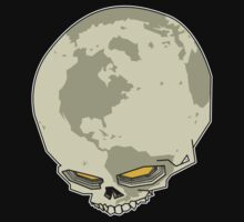 planet skull by Mungo