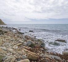 Osmington Mills Seascape 3 by Susie Peek