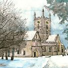 Bishop's Cleeve Church Gloucestershire by doatley