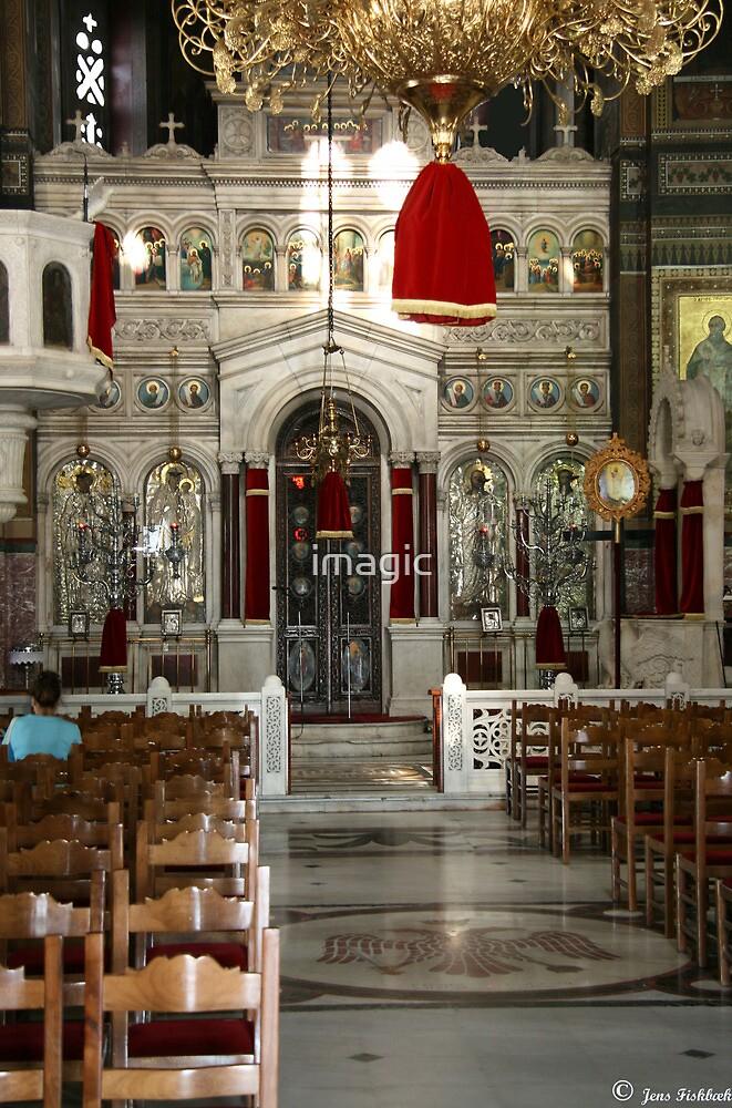 Greek Church inside by imagic