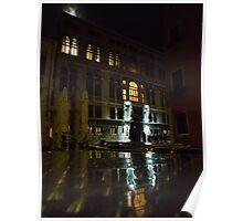 Venice Reflection Poster