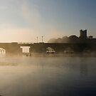 Morning Mist in Killaloe, Co Clare, Ireland by Orla Flanagan