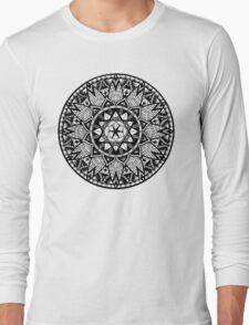 """Diffeo"" Sacred Geometry Mandala Long Sleeve T-Shirt"