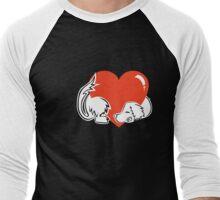 Spaniel heartwarmer Men's Baseball ¾ T-Shirt