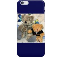 Grandpa Ted has moved in , Lyme Dorset UK iPhone Case/Skin