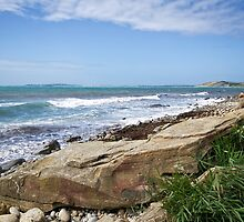 Osmington Mills Seascape 4 by Susie Peek
