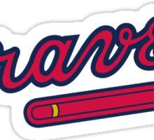 Atlanta Braves logo Sticker