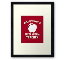 Wake Up Smarter Framed Print