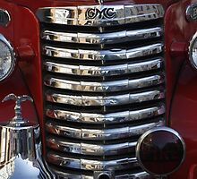 Old Fire Truck Grille by fototaker