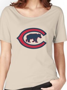 Chicago Cubs logo Women's Relaxed Fit T-Shirt