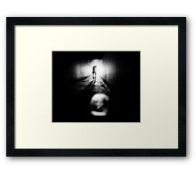 Prisoner of memory  Framed Print