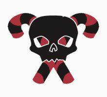 Skull and Candy Cane XBones by brattigrl