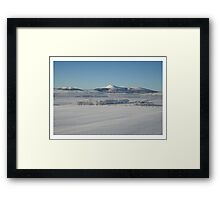 The Deep Freeze Framed Print