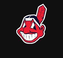 Cleveland Indians logo Women's Fitted V-Neck T-Shirt