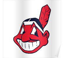 Cleveland Indians logo Poster