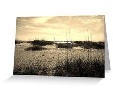 Peace on the Beach Greeting Card
