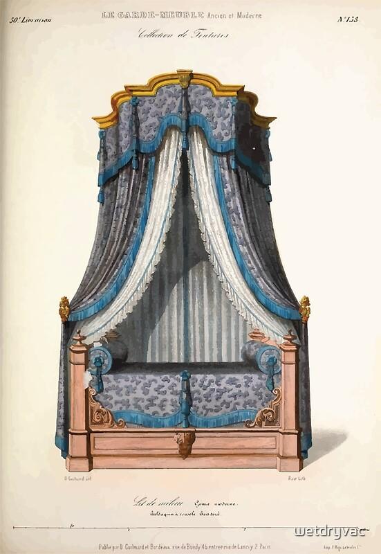 le garde meuble desire guilmard 1839 0183 high style bed. Black Bedroom Furniture Sets. Home Design Ideas