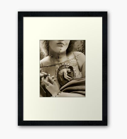 The Finishing Touch Framed Print