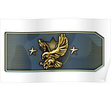 Counter-Strike Legendary Eagle Rank Poster