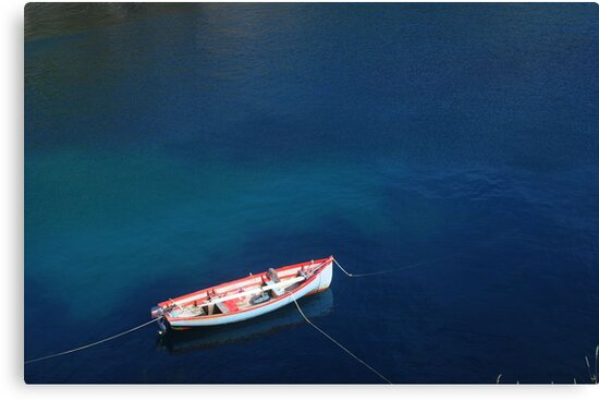 Symphony in Blue by Karin  Funke