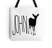 Life Is Strange - John Doe -Black Tote Bag