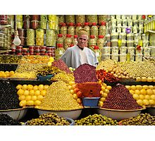 THE OLIVE MAN - MOROCCO Photographic Print