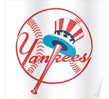 New York Yankees logo Poster
