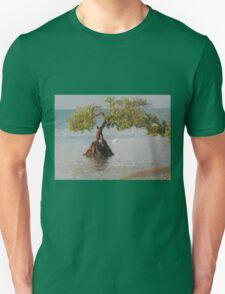 Oil Painting Seaside Tree Unisex T-Shirt