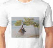 Oil Painting Seaside Tree Unisex T-Shirt