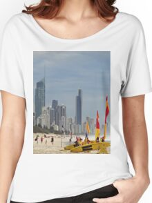 lifeguards and skyscrapers Women's Relaxed Fit T-Shirt