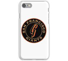 San Francisco Giants logo iPhone Case/Skin
