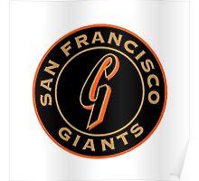 San Francisco Giants logo Poster