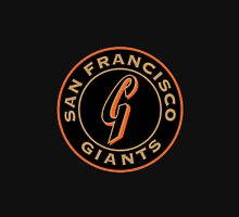 San Francisco Giants logo Women's Fitted Scoop T-Shirt