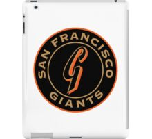 San Francisco Giants logo iPad Case/Skin
