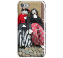 Ladies on a Bench iPhone Case/Skin