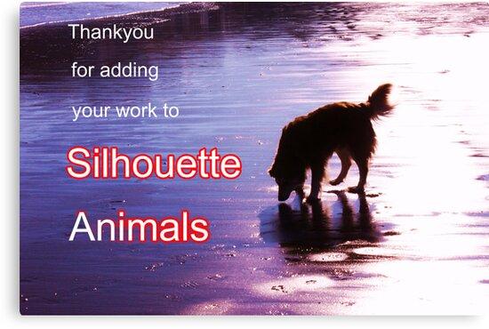 thanks silhouette animals by xxnatbxx