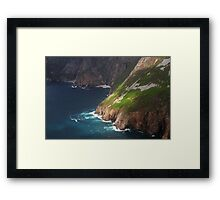 Slieve League II (detail) Framed Print