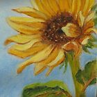 Sunflower by Geraldine M Leahy