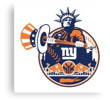 New York Yankees logo 1 Canvas Print