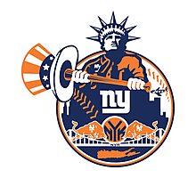 New York Yankees logo 1 Photographic Print