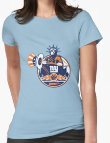 New York Yankees logo 1 Womens Fitted T-Shirt