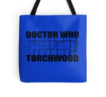 Doctor Who And Torchwood Tote Bag