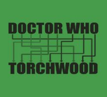 Doctor Who And Torchwood One Piece - Short Sleeve