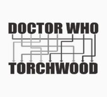 Doctor Who And Torchwood Baby Tee