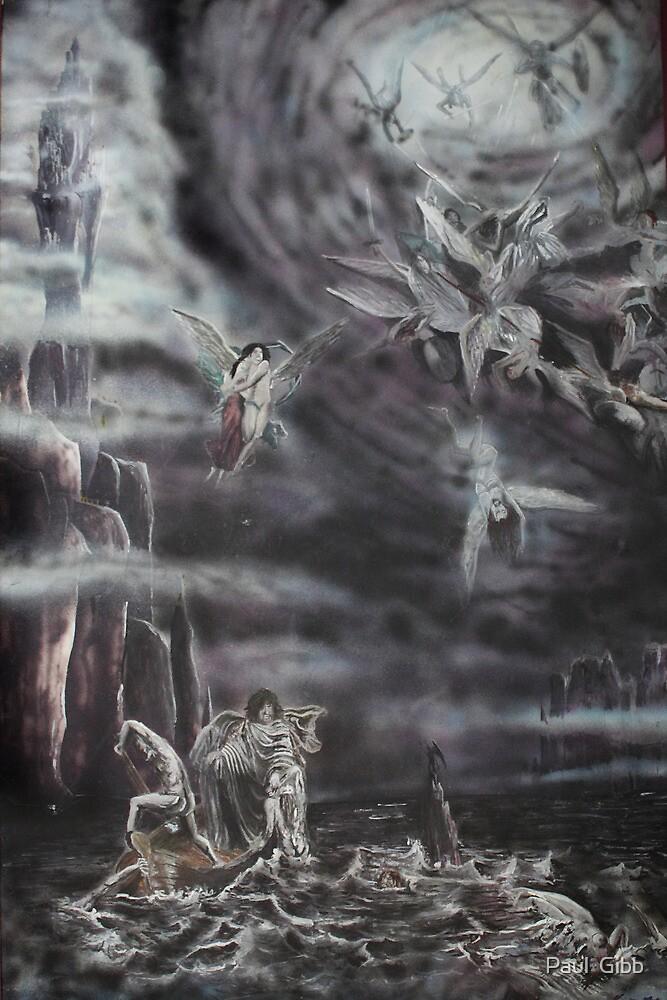 Battle over Acheron by Paul  Gibb