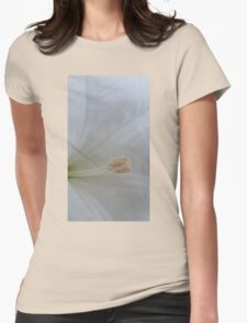 Moonflower - Open I Womens Fitted T-Shirt