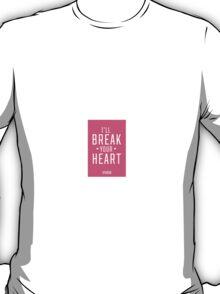 Pink Heartbreaker Victoria Secret T-Shirt