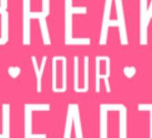 Pink Heartbreaker Victoria Secret Sticker