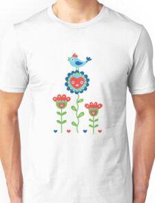 Happy - sweet print - multi Unisex T-Shirt