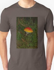 Little Orange Toadstool Unisex T-Shirt